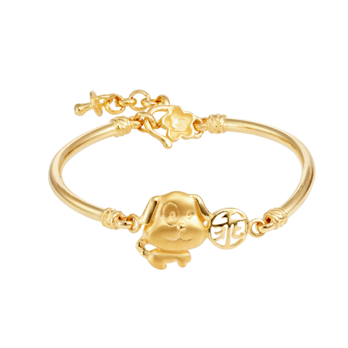 864d53032 Habib Jewels - 916 Gold Charm Bangle